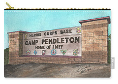 Camp Pendleton Welcome Carry-all Pouch