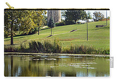 Campanile Reflection In Kansas Carry-all Pouch