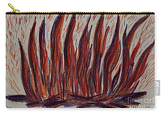 Campfire Flames Carry-all Pouch by Theresa Willingham