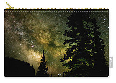 Camping Under The Milky Way Carry-all Pouch