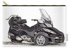Can-am Spyder Trike Carry-all Pouch by Jack Pumphrey