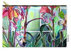 Cana Lily And Daisy Carry-all Pouch