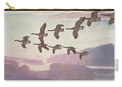 Canada Geese In Spring Carry-all Pouch