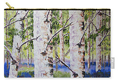 Canadian Autumn Birch Carry-all Pouch