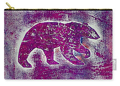 Canadian Bears Pink  Carry-all Pouch