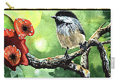 Canadian Chickadee Carry-all Pouch