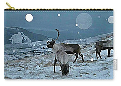 Canadian Elk By Moonlight Carry-all Pouch