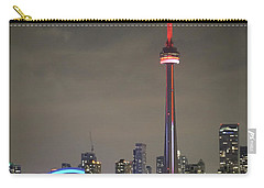 Canadian Landmark Carry-all Pouch by Nick Mares