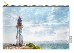 Canadian Lighthouse Carry-all Pouch by Shirley Stalter