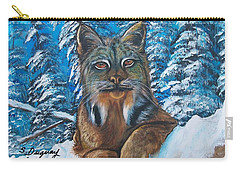 Canadian Lynx Carry-all Pouch
