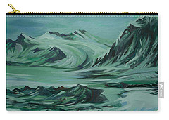 Canadian North Carry-all Pouch by Anna  Duyunova
