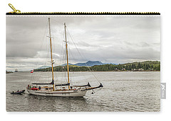 Canadian Sailing Schooner Carry-all Pouch by Timothy Latta