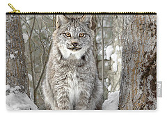 Canadian Wilderness Lynx Carry-all Pouch