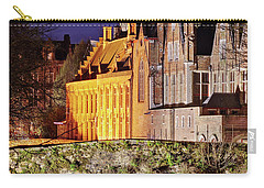 Canal Bridge At Night - Bruges Carry-all Pouch