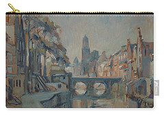 Canal In Utrecht Carry-all Pouch