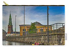 Canal Kayaking In Copenhagen Carry-all Pouch