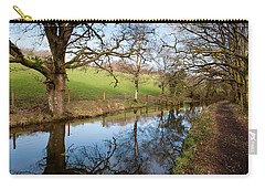 Canal Reflections Carry-all Pouch by Helen Northcott