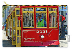 Canal Street Cable Car Carry-all Pouch