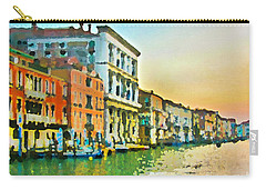 Canal Sunset - Venice Carry-all Pouch