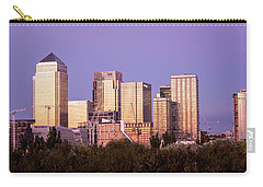 Canary Wharf Sunset Carry-all Pouch