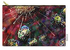 Cancer Cells Carry-all Pouch by Russell Kightley