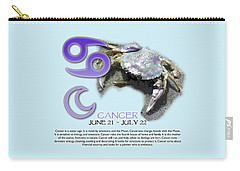 Cancer Sun Sign Carry-all Pouch