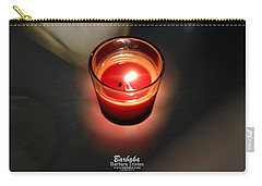 Candle Inspired #1173-3 Carry-all Pouch by Barbara Tristan