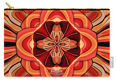 Candle Inspired #1173-4 Carry-all Pouch by Barbara Tristan