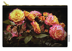 Candlelight Rose  Carry-all Pouch by Jessica Jenney