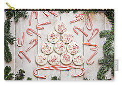 Carry-all Pouch featuring the photograph Candy Cane Lane by Kim Hojnacki