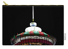 Carry-all Pouch featuring the photograph Candy Cane Tower by Brad Allen Fine Art