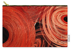 Carry-all Pouch featuring the digital art Candy Chaos 1 Abstract by Andee Design