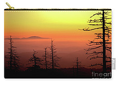 Carry-all Pouch featuring the photograph Candy Corn Sunrise by Douglas Stucky