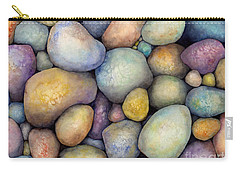Carry-all Pouch featuring the painting Rock Candy by Hailey E Herrera