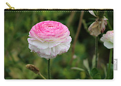 Candy Stripe Ranunculus Carry-all Pouch