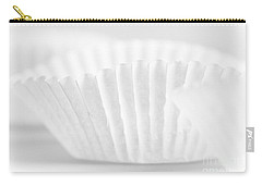 Carry-all Pouch featuring the photograph White #2266 by Andrey  Godyaykin