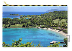 Caneel Bay St. John Carry-all Pouch by Fiona Kennard