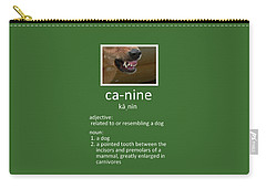 Canine Poster Carry-all Pouch