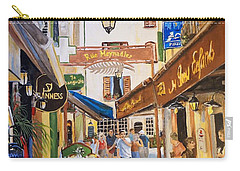 Carry-all Pouch featuring the painting Cannes by Alan Lakin