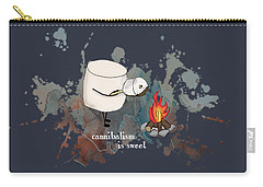 Carry-all Pouch featuring the photograph Cannibalism Is Sweet Illustrated by Heather Applegate