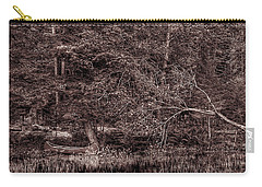 Canoe In The Adirondacks Carry-all Pouch by David Patterson
