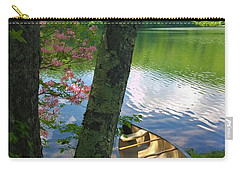 Canoe On Pond Carry-all Pouch