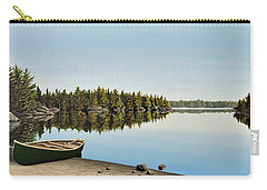 Canoe The Massassauga Carry-all Pouch by Kenneth M  Kirsch