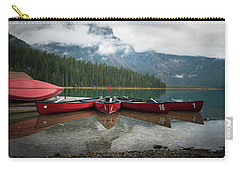 Canoes At Emerald Lake Carry-all Pouch