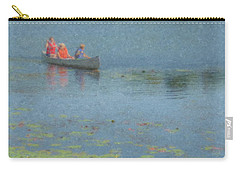 Canoes On Shovelshop Pond Carry-all Pouch