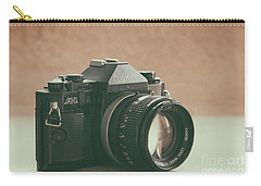 Carry-all Pouch featuring the photograph Canon A1 by Ana V Ramirez