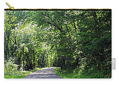 Carry-all Pouch featuring the photograph Canopy Of Trees by Angela Murdock