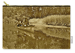 Canton Canoe Trip 2016 36 Carry-all Pouch by George Ramos
