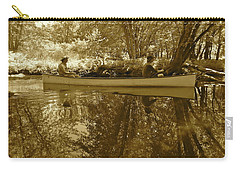 Canton Canoe Trip 2016 40 Carry-all Pouch by George Ramos