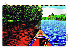 Canton Canoe Trip 2016 49 Carry-all Pouch by George Ramos
